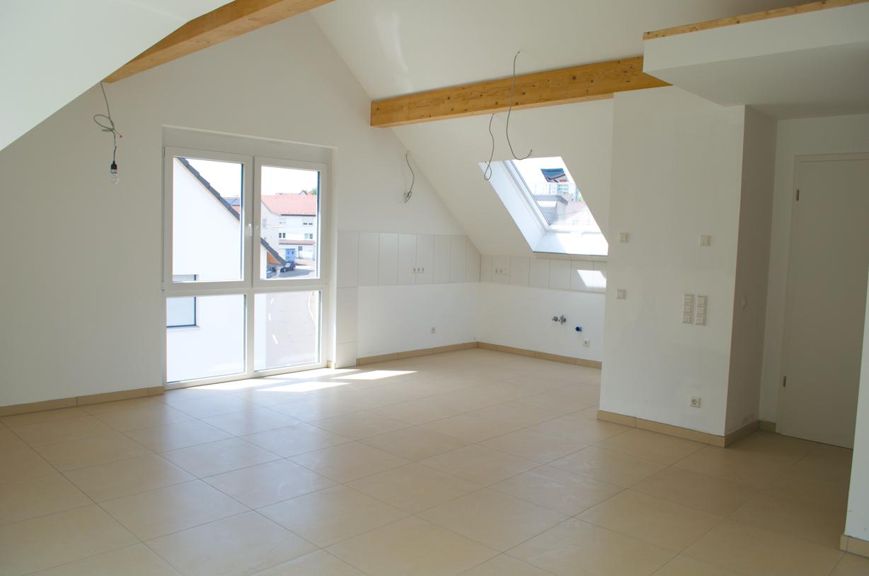 Innenansicht 3-Familienhaus mit Luft/Wasser-Wärmepumpe
