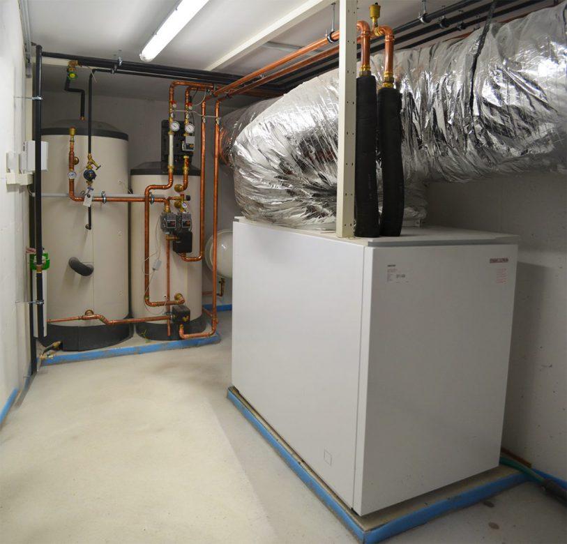 Bild einer Luft/Wasser-Wärmepumpe