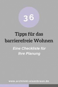 36 Tipps für das barrierefreie Wohnen - Eine Checkliste für Ihre Planung