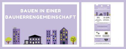 Beitragsbild zur Infografik Bauen in einer Bauherrengemeinschaft