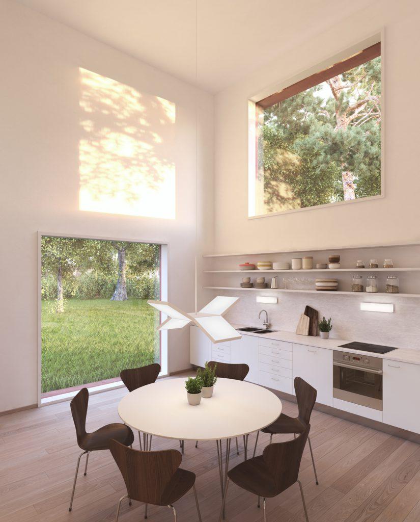 Küche im Hemnet Haus