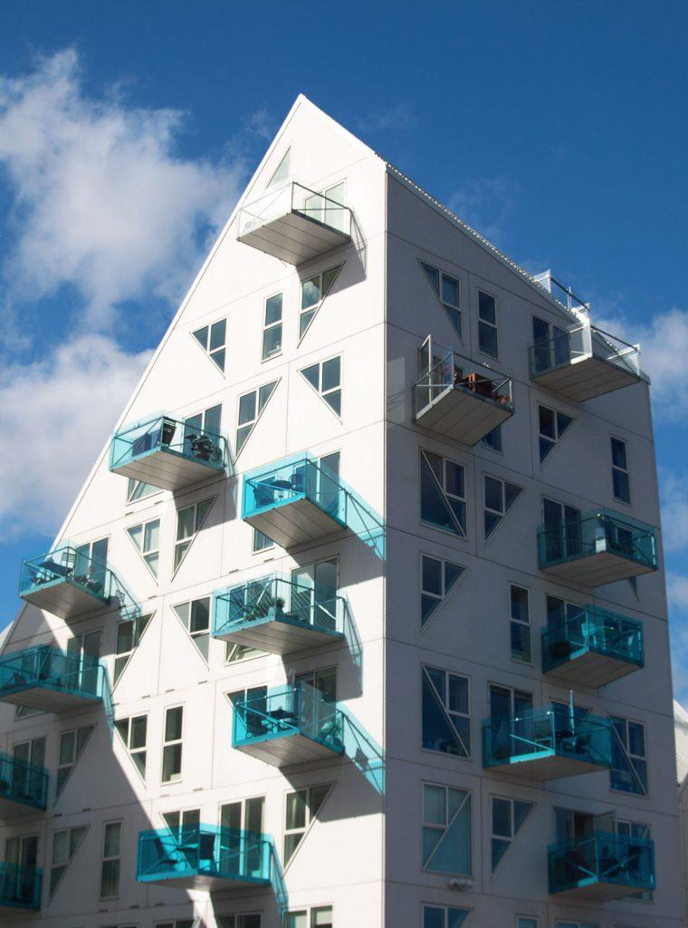 Einzelgebäude Iceberg Aarhus