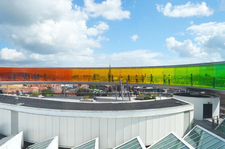 Regenbogenpanorama des Kunstmuseums ARoS in Aarhus