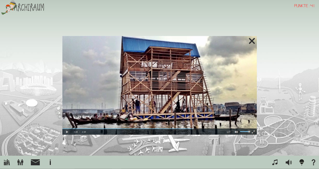 Screenshot: Archiraum. Makoko Floating School
