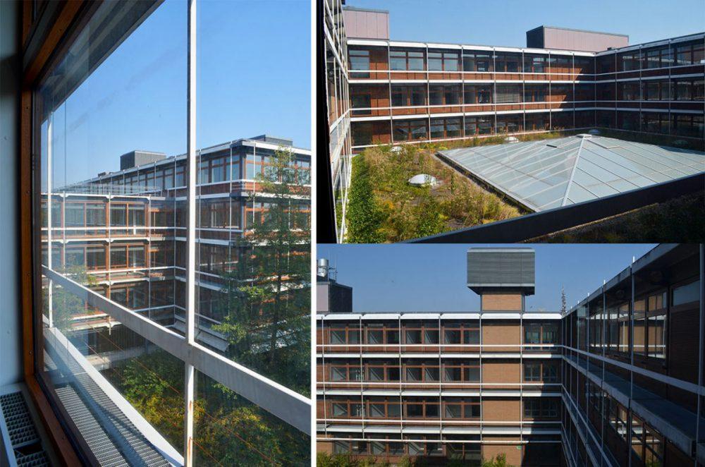 Bilder vom Eiermann Campus Stuttgart