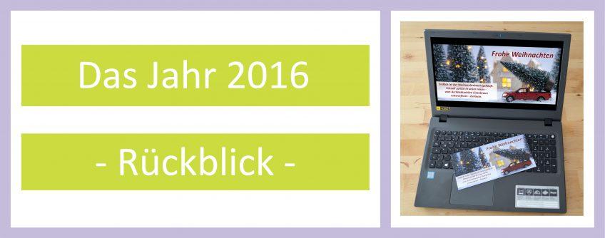 Jahresrueckblick Architekturbüro Eisenbraun 2016
