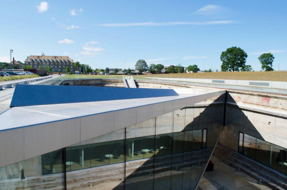 """Blick über das """"Maritime Museum"""", Helsingør. Bildquelle: Eigenes Bild."""