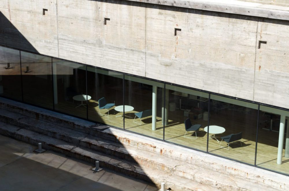 Blick auf das Maritime Museum in Helsingør von Bjarke Ingels (BIG)