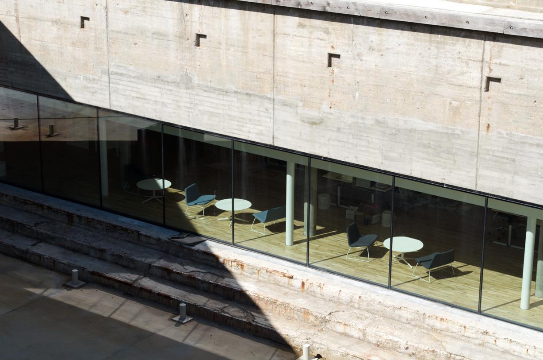 Blick auf das Maritime Museum von Bjarke Ingels