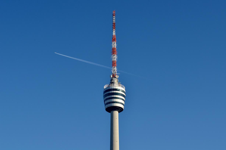 Architektour: Bild vom Fernsehturm in Stuttgart