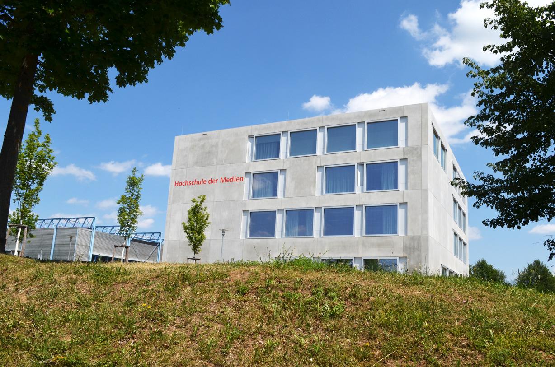 Erweiterungsgebäude Hochschule der Medien. Aufnahme vom Tag der Architektur 2017