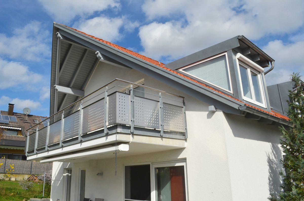 Südwestansicht Einfamilienhaus Ostfildern. Geplant Und Gebaut Von Dem Architekturbüro Eisenbraun.