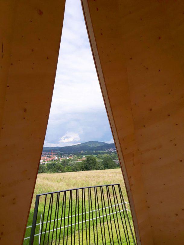 Ausblick vom Turm im Urbach