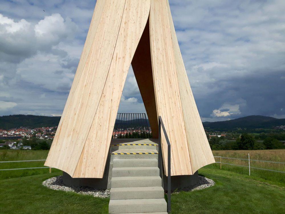 Turmschaft Urbach mit Treppe