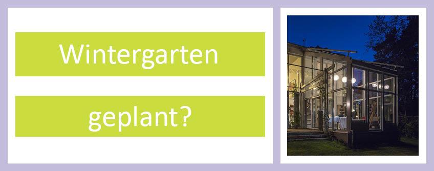 Wintergarten Geplant